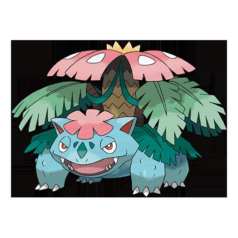 [Ilustración oficial de Mega-Venusaur]